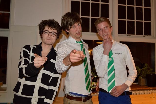 Bon, Aart, Paul, Rick (niet op foto)