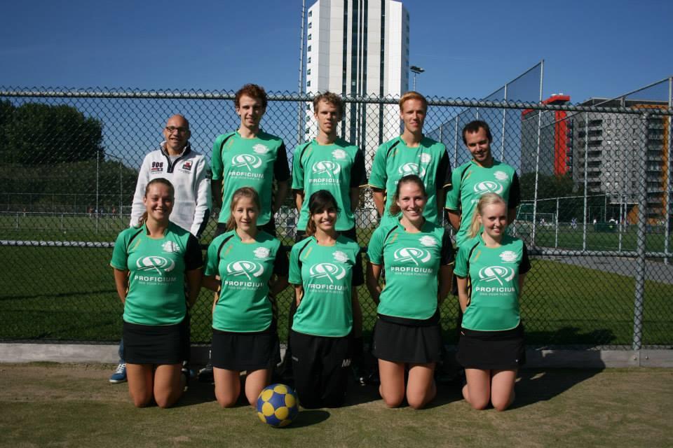 Martijn, Pieter-Jan, Lieuwe Thys, Joël, Rick (invaller), Renée, Margit, Nura, Lisette, Cynthia