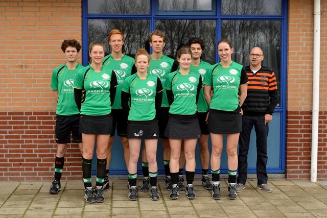 Bon, Renee, Joel, Anouk, Lieuwe Thys, Dorien, Lisette, Martijn, Maarten (niet op foto)