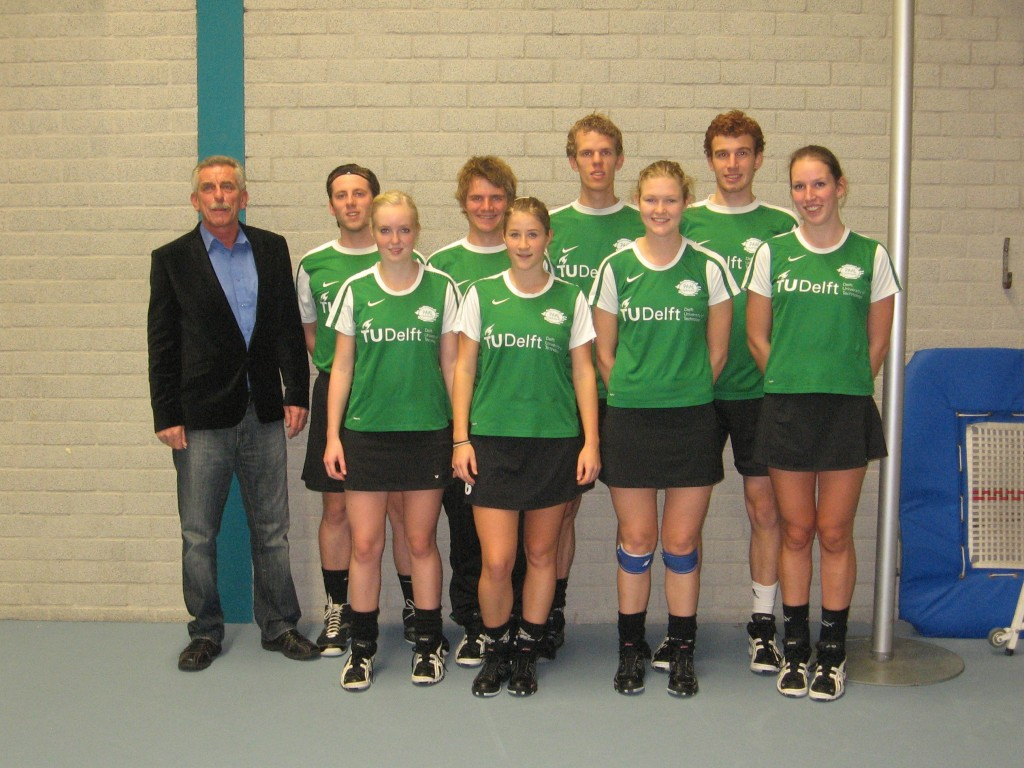 Arie, Marco, Cynthia, Benjamin, Margit, Lieuwe Thys, Renate, Pieter Jan, Lisette